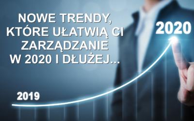 Inny wymiar zarządzania przychodem- nowe trendy, które ułatwią Ci zarządzanie w 2020 i długo dłużej!